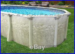 12x18 Oval 52 High Above Ground Swimming Pool Package Space Saving Design