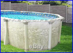 12x24 Oval Above Ground Swimming Pool Kit 52 High, Liner Not Included