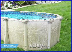 12x24 Oval Above Ground Swimming Pool Kit 54 High Liner Not Included