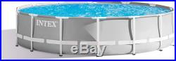 14 Foot x 42 Inch Above Ground Swimming Pool 3,357 gal complete set ladder pump