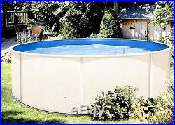 15' x 48 Round Above Ground Swimming Pool Basic Package 15 Year Warranty