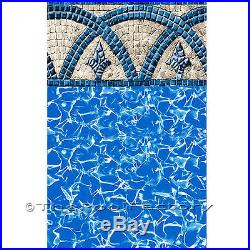 15x30 Oval 54 High Saltwater 8000 Above Ground Salt Swimming Pool Package