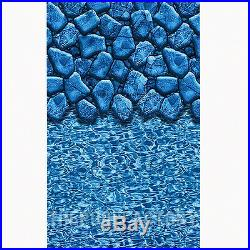 15x30x52 Oval Signature Resin Top Ledge Above Ground Swimming Pool Package