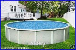 18' x 52 Round Above Ground Swimming Pool + Super Awesome Package Complete