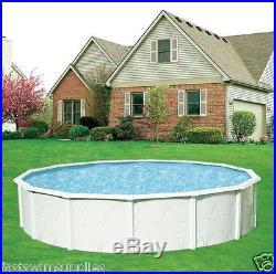 21' x 52 Round Above Ground Swimming Pool + Super Awesome Package Complete
