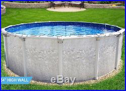 24 Round 54 High Above Ground Swimming Pool Package 40 Year Warranty 7 Top