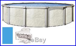 24'x52 Round FALLSTON Above Ground Swimming Pool & Liner Kit-30 Year Warranty