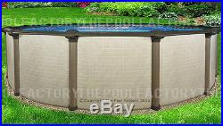 24x54 Melenia Round Above Ground Swimming Pool Package 50 Year Warranty
