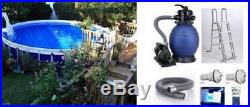 Low price above ground pools blog archive 31ft x 54in round legacy above ground pools complete for Legacy above ground swimming pools