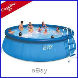 Above Ground 18' x 48 Easy Set Swimming Pool Intex 5,455 gallon Complete Kit