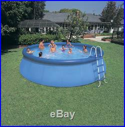 Above Ground Easy Pool Set 18' x 48 Complete Backyard Kit Pump Ladder Swimming