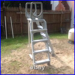 Above Ground Swimming Pool A-Frame Ladder Entry System Local pickup only