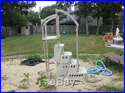 Above ground swimming pool steps stairs PICK UP ONLY New Jersey