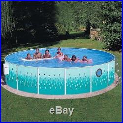 BRAND NEW Heritage Round 18' x 42 Deep Complete Above Ground Swimming Pool