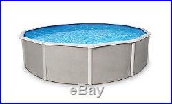 Belize 18' Round 52 Steel Above Ground Swimming Pool