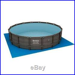 Bestway 16' x 48 Power Steel Frame Above Ground Pool Set with Pump (Open Box)