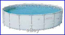 Bestway 18' x 52 Power Steel Pro Frame Above Ground Swimming Pool Open Box