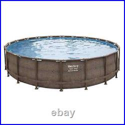 Bestway Power Steel Deluxe Series 20' x 48 Above Ground Pool Set FREE SHIPPING
