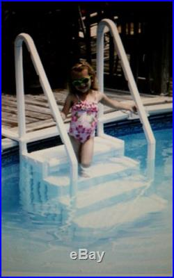 Blue Wave Simple Step 32.5-in Step for Above Ground Swimming Pools