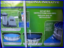 Brand New Intex 18' x 48 Ultra (Very Strong) Frame Swimming Pool Set -Completed