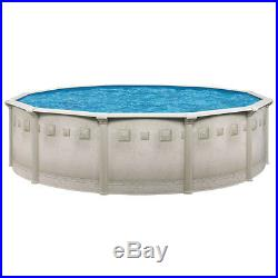 Complete Ocean Mist 18'x52 Round Above Ground Pool Package