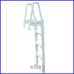 Confer 635-52 In-Pool Adjustable 48-56 Ladder For Aboveground Swimming Pool
