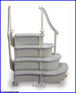 Confer Curve Semi-In Ground/ Above Ground Pool Step System