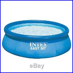 Family Summer Water Fun Large Swimming Pool 12 ft x 30 in Set Volt Filter Pump