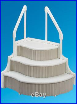 Grand Entrance In-Ground Swimming Pool In-Pool Step Entry System