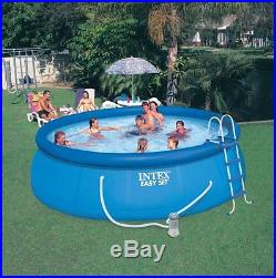 INTEX 15' x 48 Easy Set Swimming Pool Kit with 1000 GFCI Filter Pump Open Box
