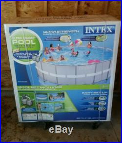 Low price above ground pools blog archive intex 18 x 52 ultra frame swimming pool set with for Intex 18 x 9 x 52 ultra frame swimming pool
