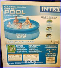 INTEX EASY SET SWIMMING POOL 10 X 30 ABOVE GROUND FILTER INCLUDED