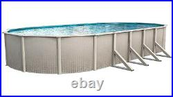 Impressions 15' by 30' by 48 Oval AboveGround Swimming Pool W Liner and Skimmer