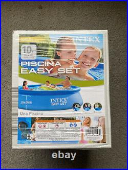 Intex 10ft x 30in Easy Set Pool IN HAND FREE AND FAST SHIPPING