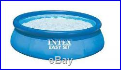 Intex 12 Feet x 30 Inches Easy Set Swimming Pool Above Ground Pump Filter Stairs
