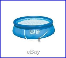 Intex 12 x 30 Easy Set Above Ground Swimming Pool with 530 GPH GFCI Pump