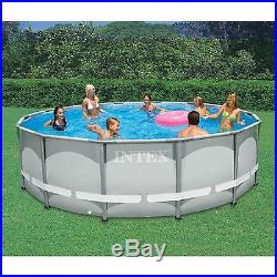 low price above ground pools blog archive intex 14 x42 ultra frame round pool swimming above