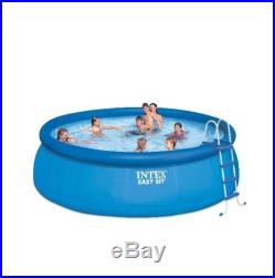 Intex 15'x48 Above Ground Easy Set Inflatable Swimming Pool Set with Pump