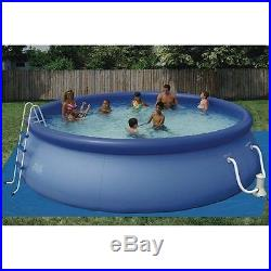 Intex 16' x 42 Easy Set Inflatable Pool Set with Ladder and Filter Pump 54993K