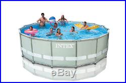 Intex 16 39 x 48 ultra frame swimming pool set with filter - Swimming pool filter system price ...