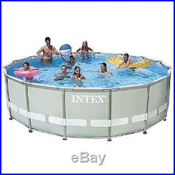 Intex 16ft X 48in Ultra Frame Pool Set with Sand Filter Pump