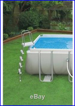 Low price above ground pools blog archive intex 18 x 9 x 52 ultra frame rectangular above for Intex 18 x 9 x 52 ultra frame swimming pool