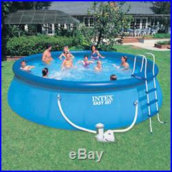Intex 18'x48 Easy Set Above Ground Deluxe Swimming Pool Package 57928EG
