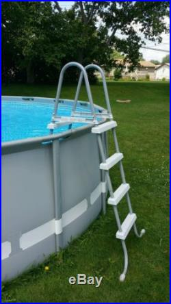 Intex 18'x52 Round Ultra Frame Above Ground Swimming Pool Package 28335EH