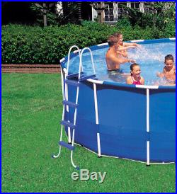 Intex 18' x 4' Frame Above Ground Pool with Pump, Ladder, Cover, & Cleaning Kit