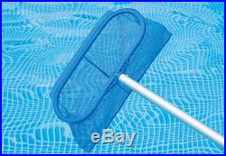 Intex 18' x 52 Ultra Frame Swimming Pool with Sand Pump & Saltwater System Set