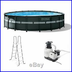 Intex 18' x 52 Ultra XTR Frame Round Above Ground Pool Set with Pump (Used)