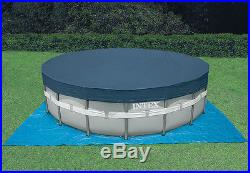 Intex 22' x 52 Ultra Frame Above Ground Swimming Pool Set with Sand Filter Pump
