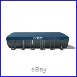 Intex 24 ft. X 12 ft. X 52 in. Rectangular Ultra XTR Frame Swimming Pool with Sa
