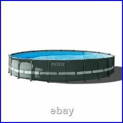 Intex 26339EH 24' x 52 Round Ultra XTR Frame Swimming Pool Set with Filter Pump